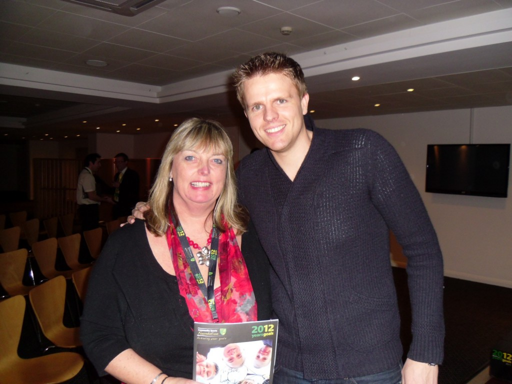 BBC Presenter Jake Humphrey and myself