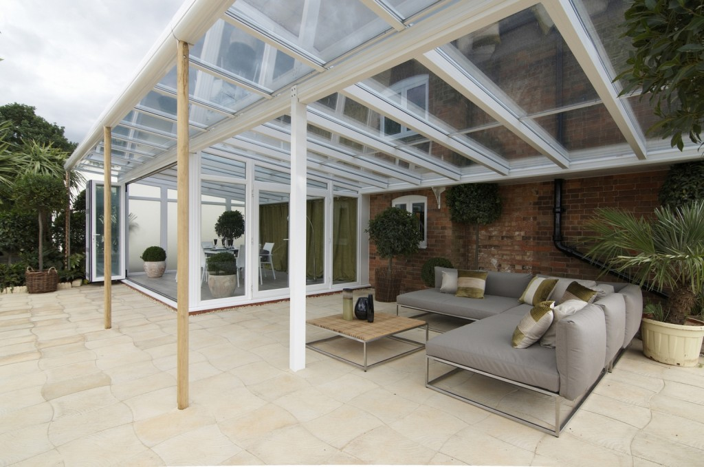 How cool does this Conservatory Verandah look for the Spring