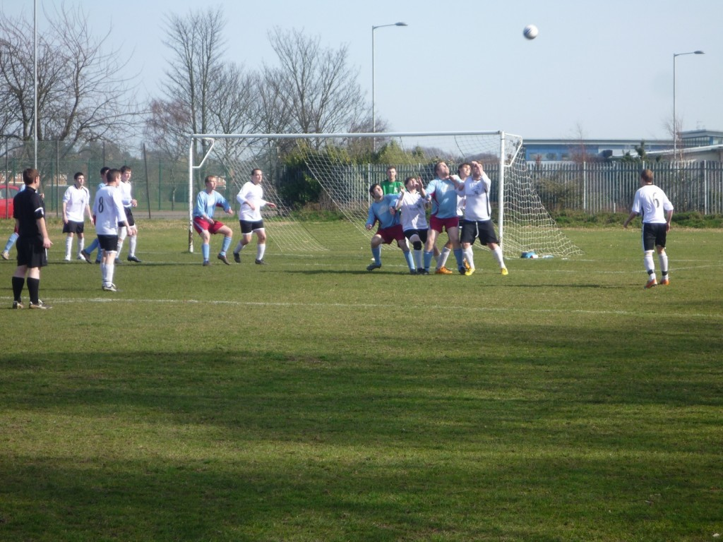 Anglian preventing a goal