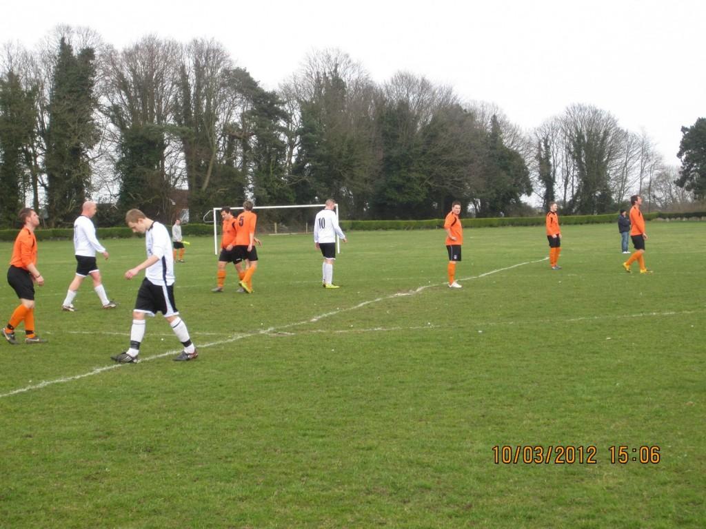 Anglian goal kick