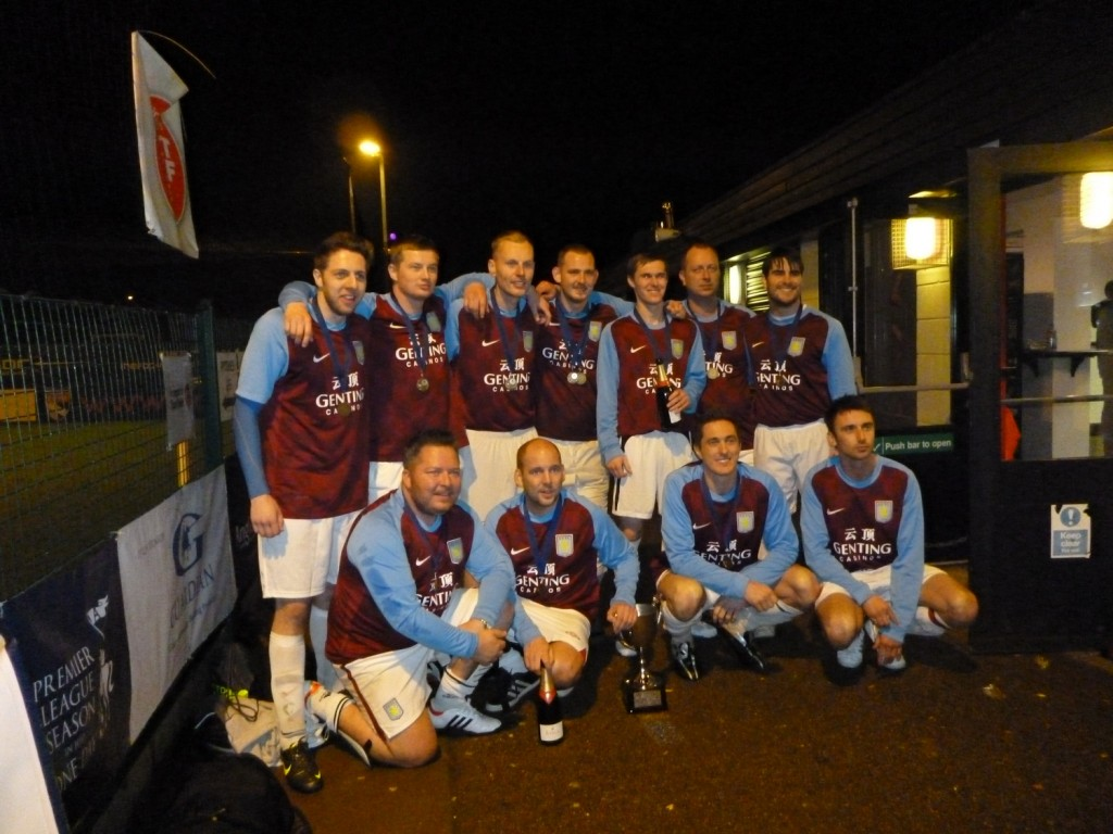 Aston Villa were crowned Champions!