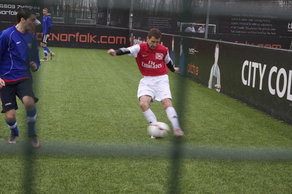 Darren Eadie turning