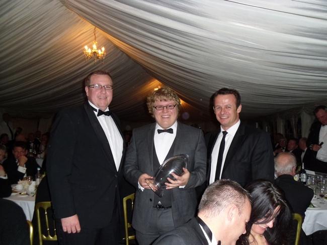 Anglian Home Improvements Award presentation