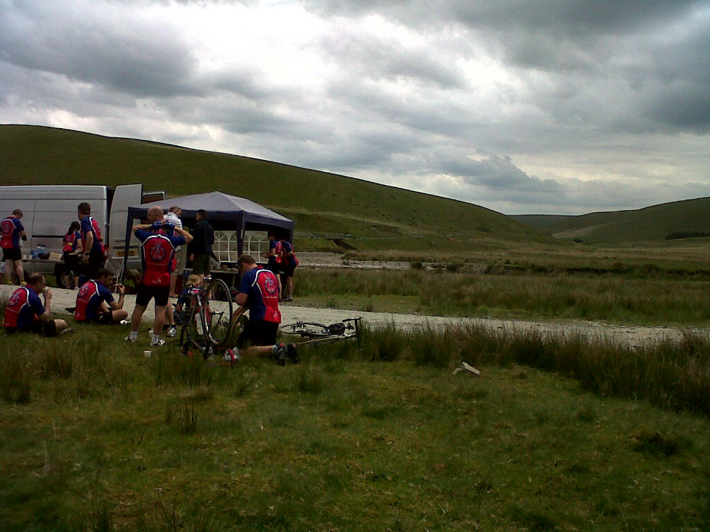 Day 4 lunch stop in the Elan Valley