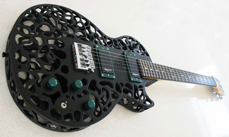 3D printer that made a fully working guitar