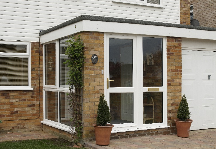 Introducing anglian home improvements porches good to be for Flat roof porches