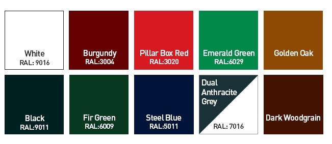 Classic Door Colours