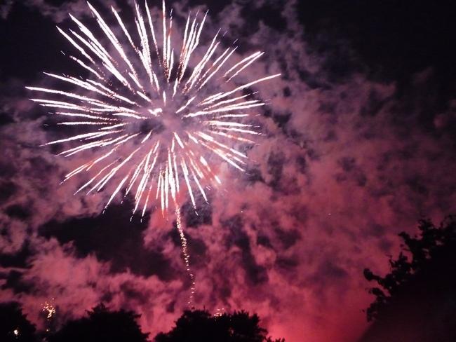 Fireworks at Gala Night