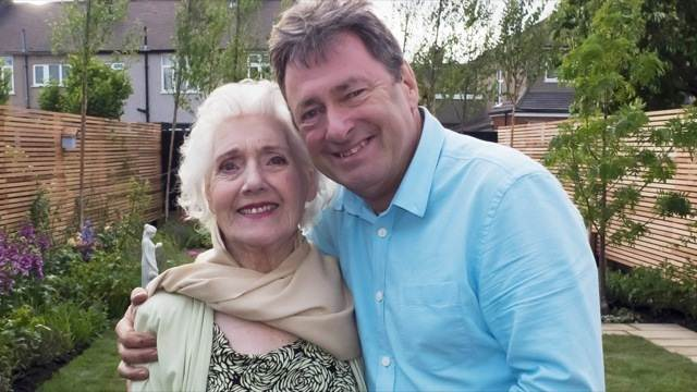 Iris and Alan titchmarsh