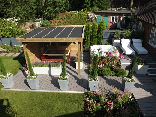 Love your garden episode 5 good to be home for Garden decking norwich