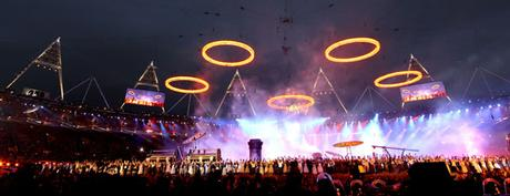 Olympic rings in the sky - dailypost.co.uk