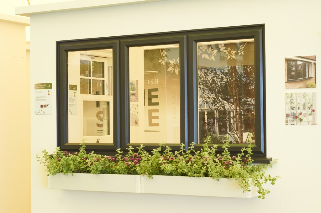 UPVC window box