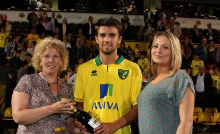 George Francomb was named the Anglian Man of the Match against Scunthorpe
