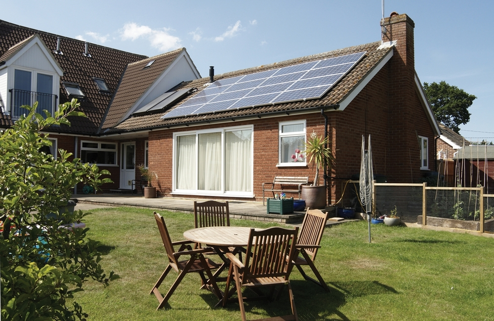 Solar panels are the current way to generate energy but what about roof tiles that do that too?