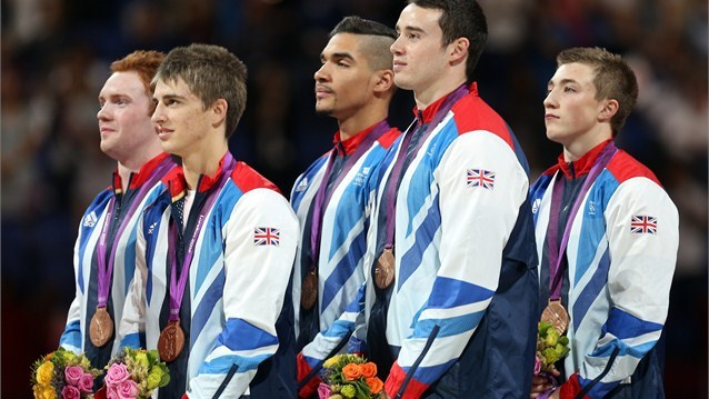 Louis Smith and team