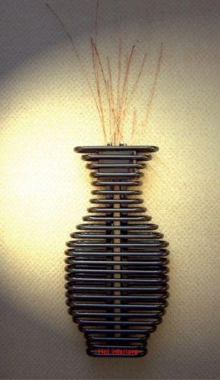 Radiator vase