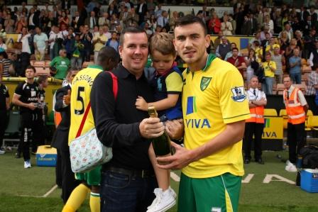 Robert Snodgrass is the Anglian Home Improvements Man of the Match against QPR