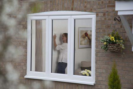 Anglian EcoGain A-rated windows