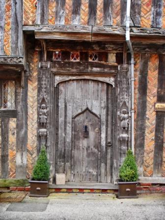 de Vere house front door