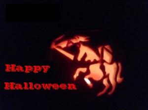 Happy Halloween headless Anglian Knight