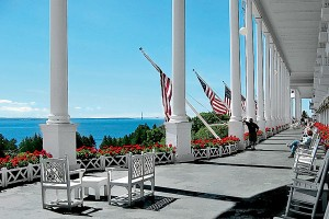 Grand Hotel,  Michigan USA
