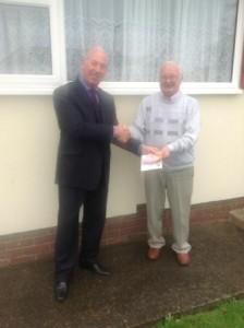 Mr Lombard winner of £100 M&S vouchers