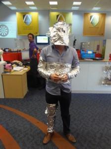 Tin foil Man