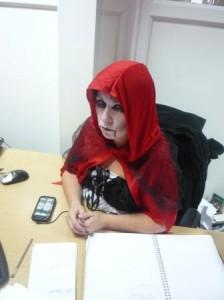 Vampire red riding hood