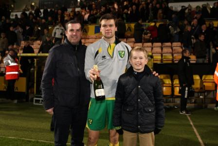 Jonny Howson was Anglian's Man of the Match vs villa