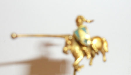 Anglian gold tie pin