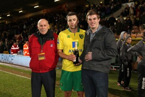 Anglain Man of the Match, NCFC Russell Martin v Man City