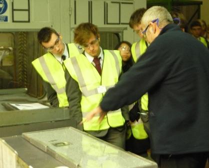 Anglian testing glass