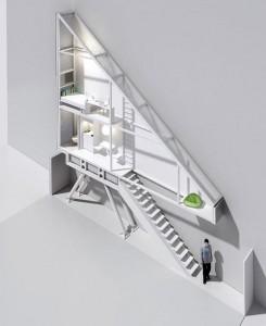 Worlds Thinnest House http://design-milk.com/worlds-thinnest-house-keret-house-by-jakub-szczesny/