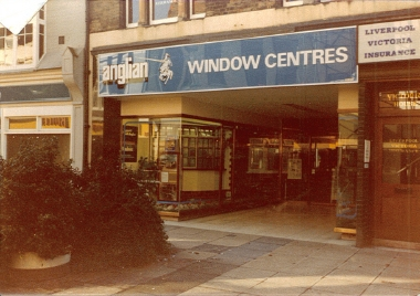 An Anglian Windows Centre in the 80's