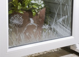 Anglain Etched Glass