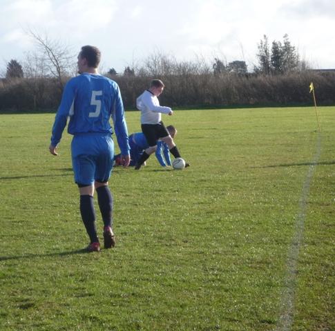 Lanckmans tackling CNSOB player