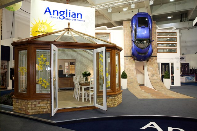 Anglian's exhibit at the 2007 Ideal Home Show
