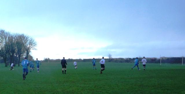 Anglian Knights attacking