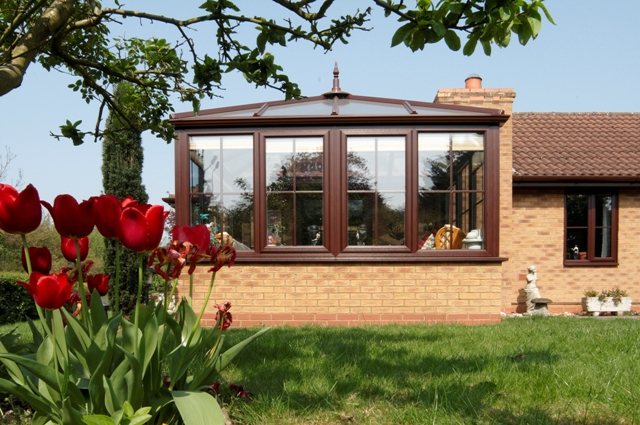 Summery Anglian conservatory