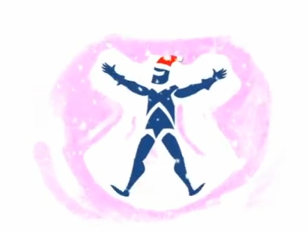 Anglian sponsored the weather, with the Anglian Knight making a snow angel