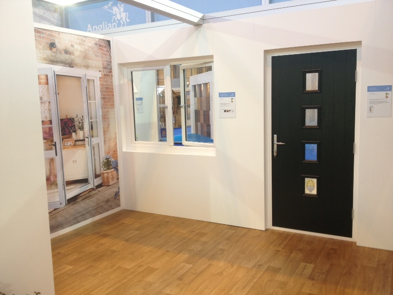 Anglian door on the stand