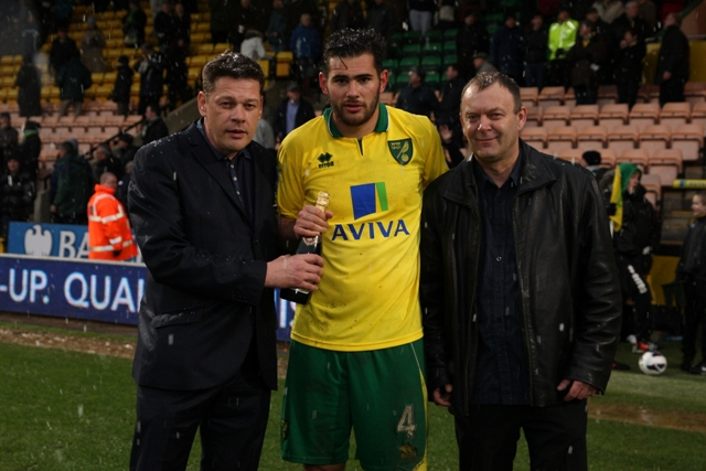Bradley Johnson was the Anglian Home Improvements Man of the Match against  Southampton