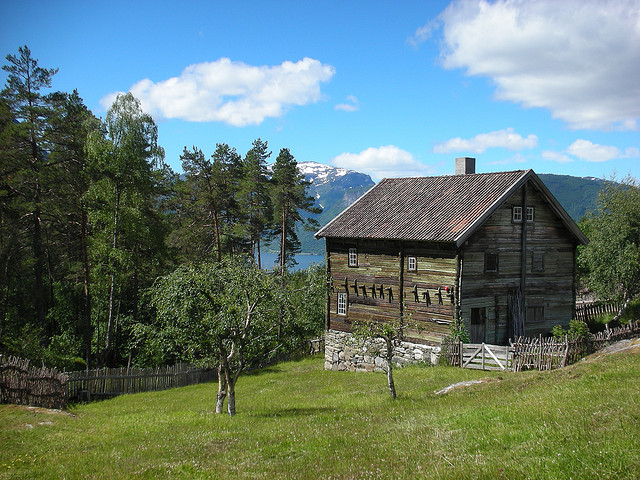 Traditional Norway house