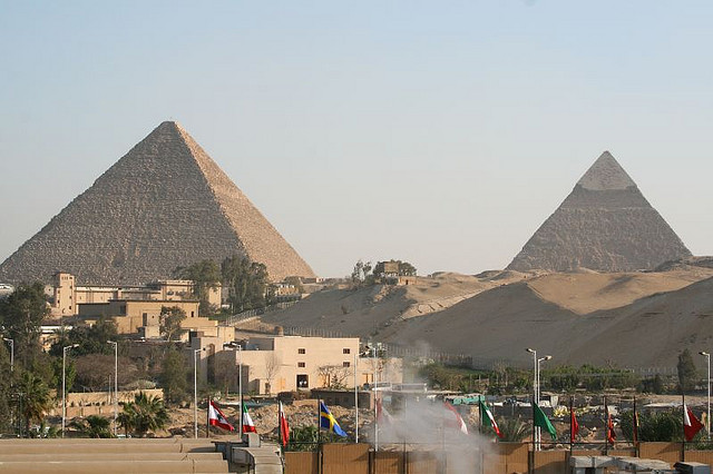 View from Egyptian Hotel