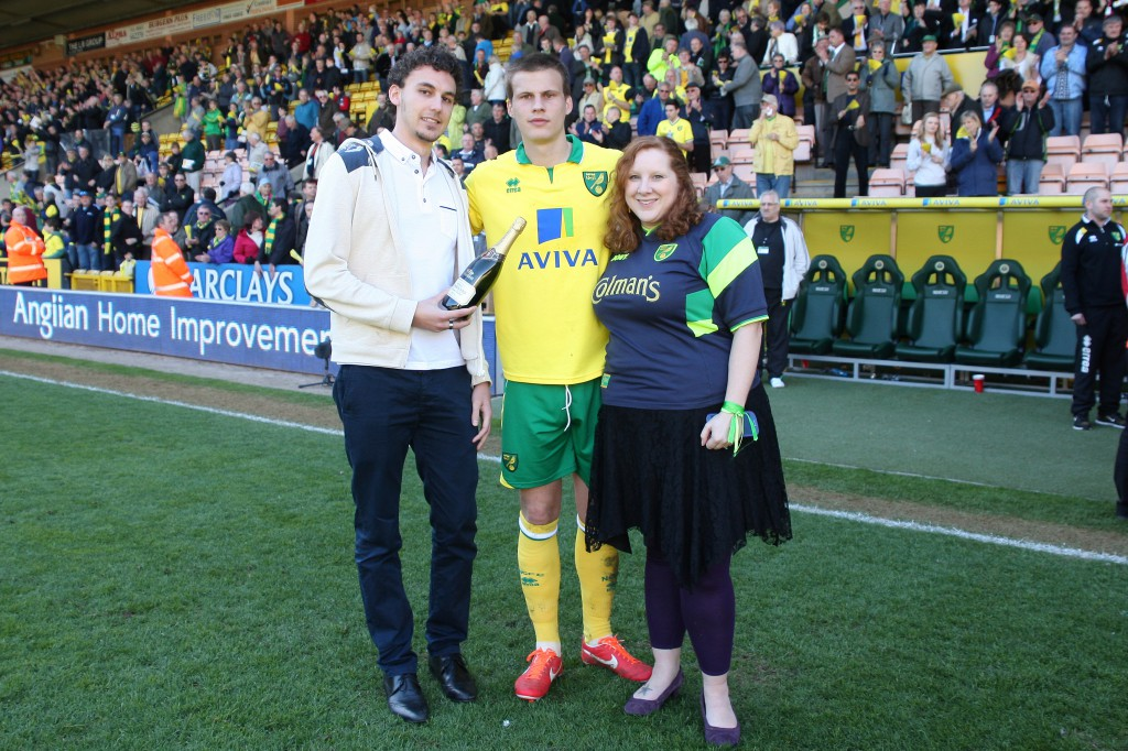 Norwich v Reading Ryan Bennett Man of the match
