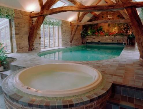 borubudur indoor swimming pool