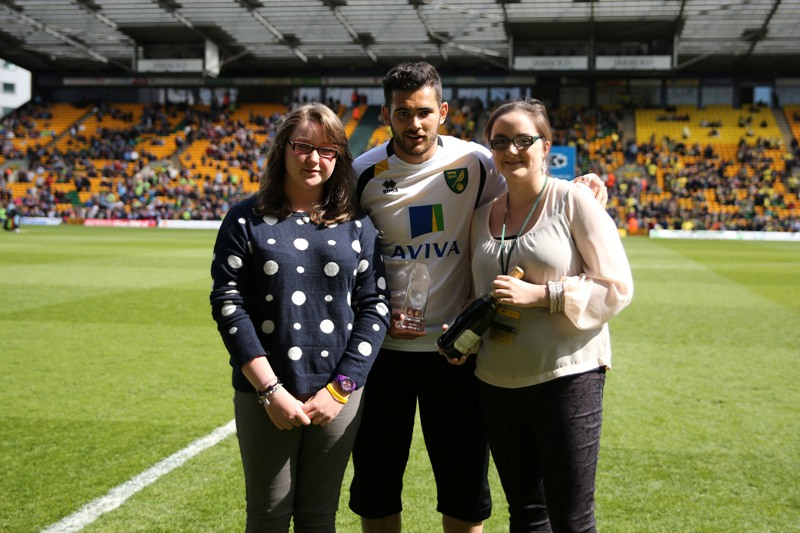Bradley Johnson Player of the Month April