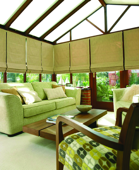 Conservatory Blind Ideas >> A passion for creating beautiful interiors for an orangery ...