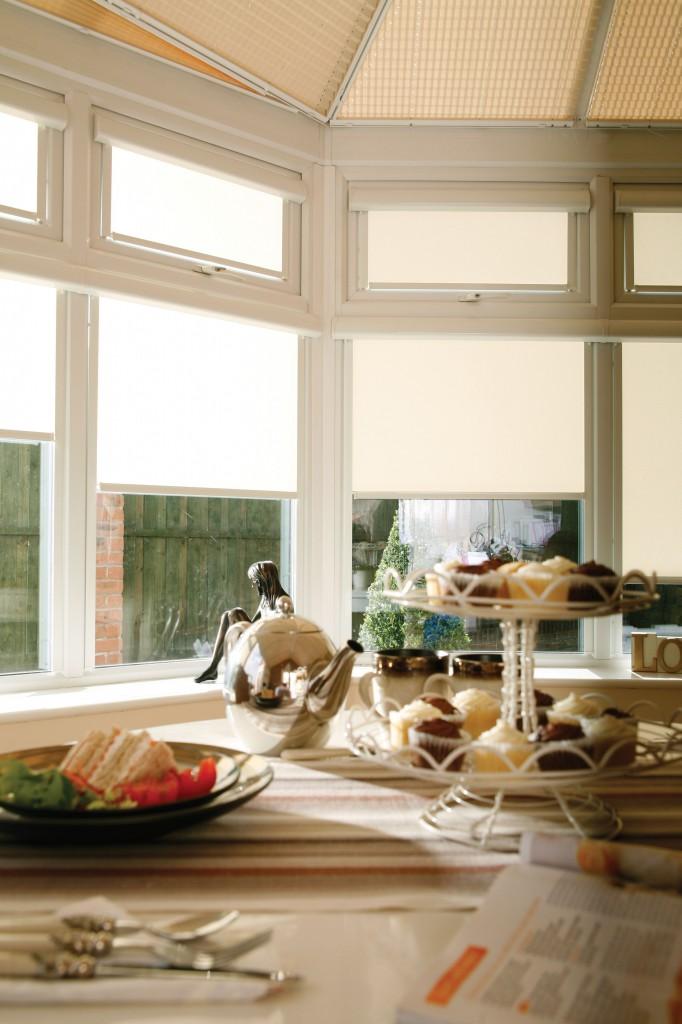 Cream Apollo blinds