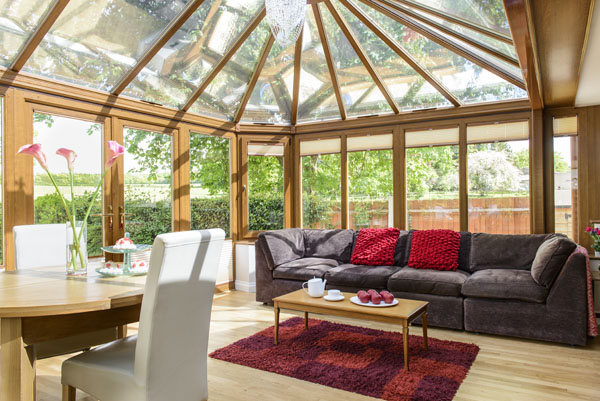 A Passion For Creating Beautiful Interiors For An Orangery